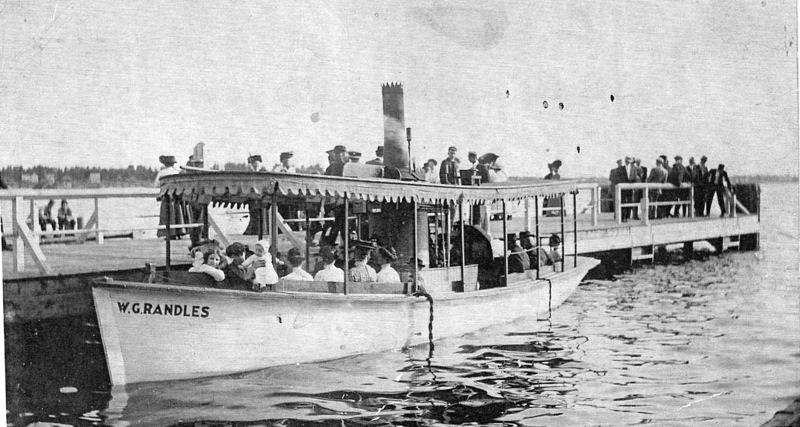 Steamboat Randles at the City Dock