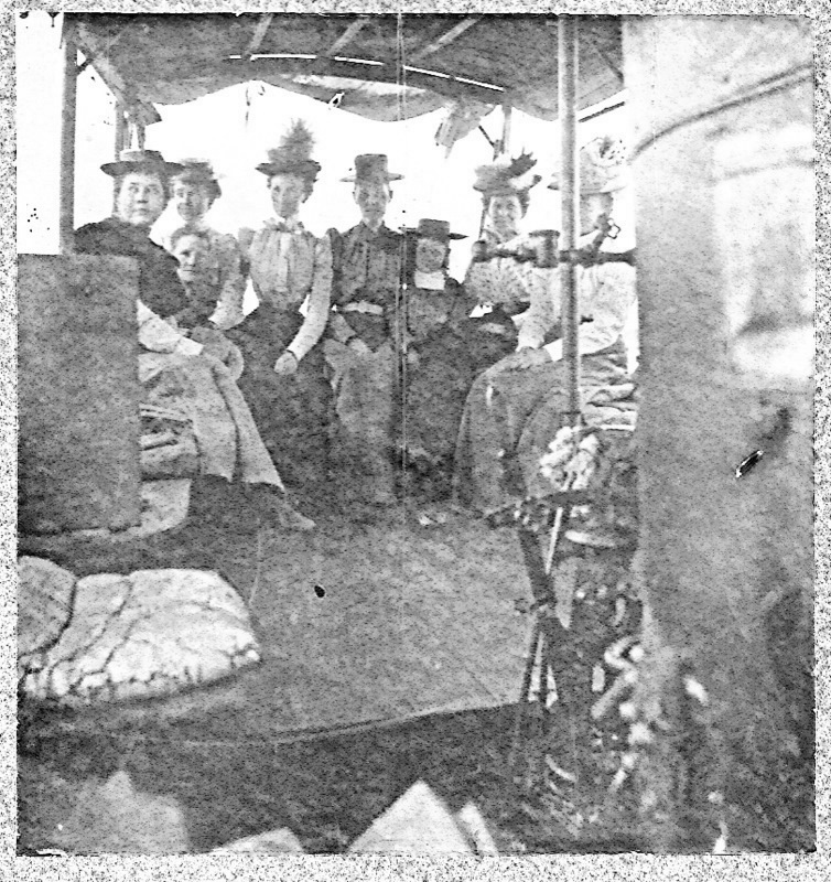 Ladies on a Steamboat