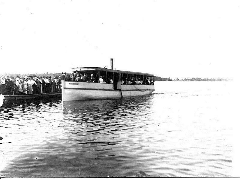 Lake Cadillac Steamer