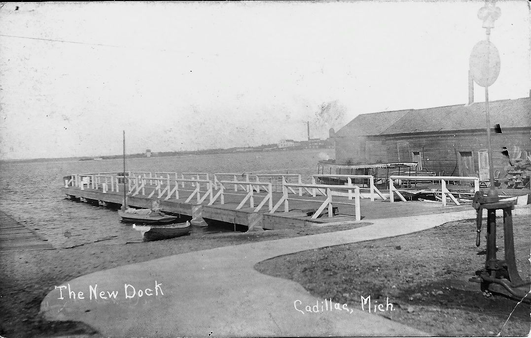City Dock on Little Clam Lake
