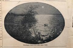 Lake Cadillac in 1897