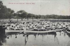 Boating On Lake Cadillac