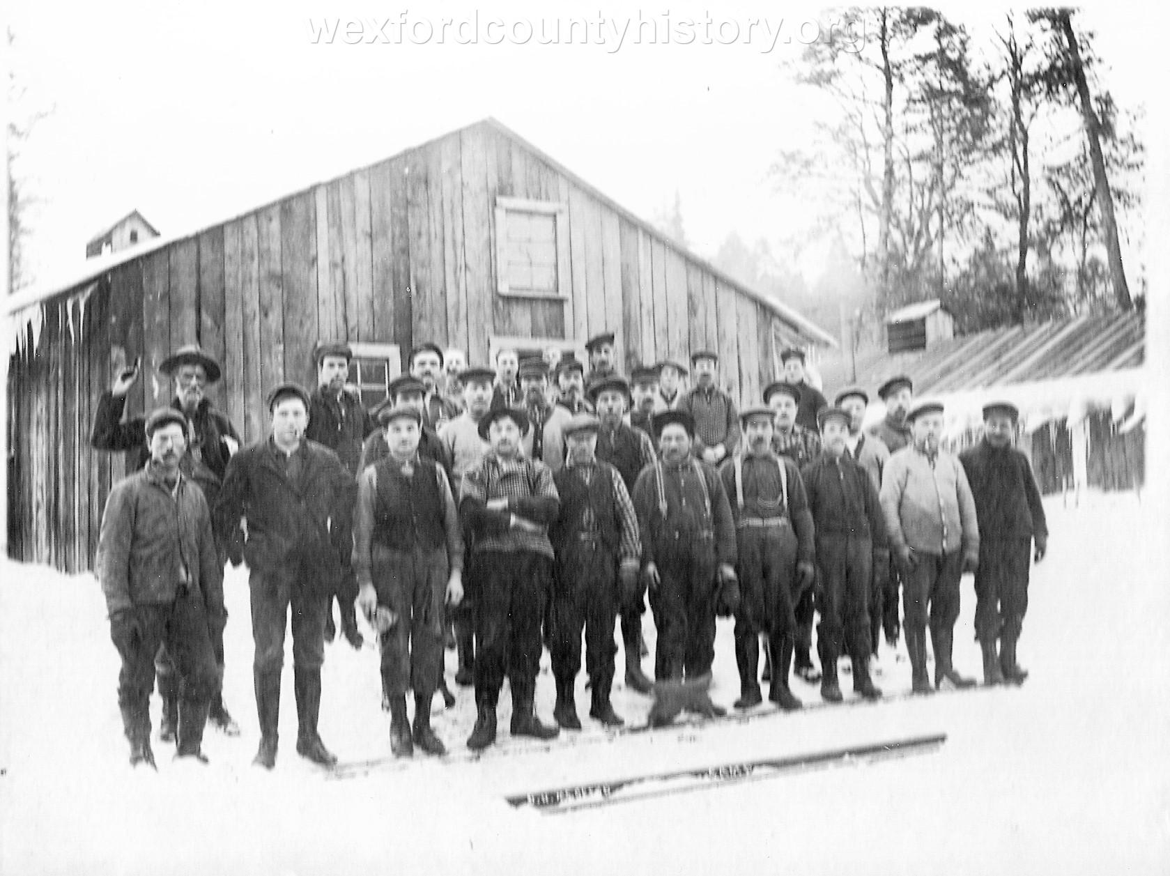 Cadillac-Lumber-D.-N.-McGreed-Camp-Crew