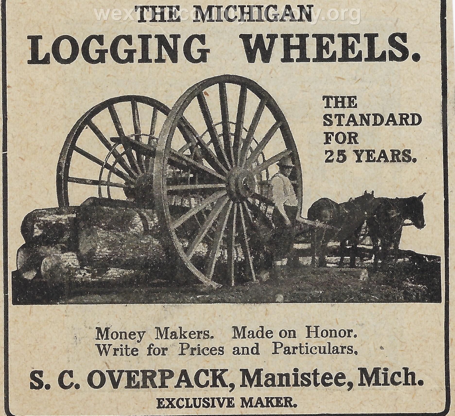 Cadillac-Lumber-Michigan-Logging-Wheels-1