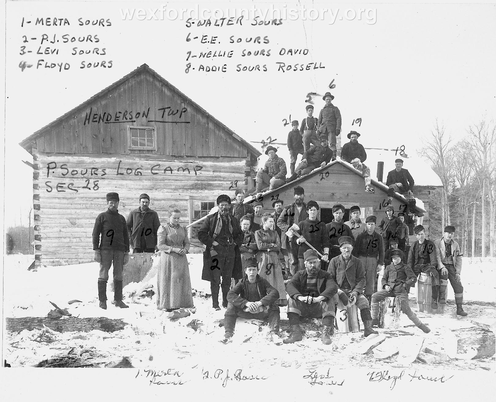 Cadillac-Lumber-Sours-Logging-Camp