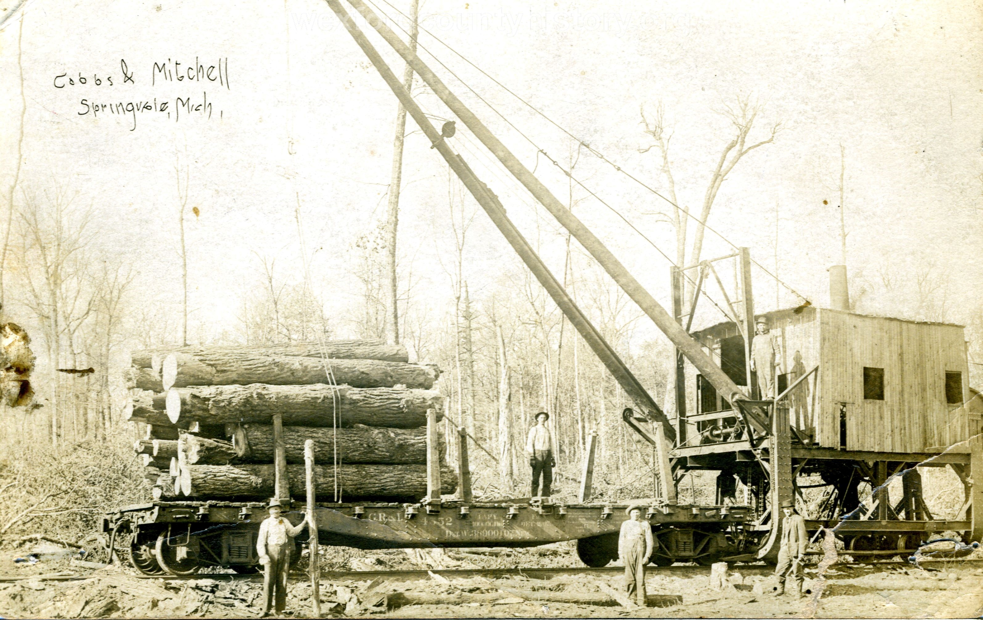 Cadillac-Lumber-loader-Cobbs-Mitchell-A-Mike-Hankwitz-collection