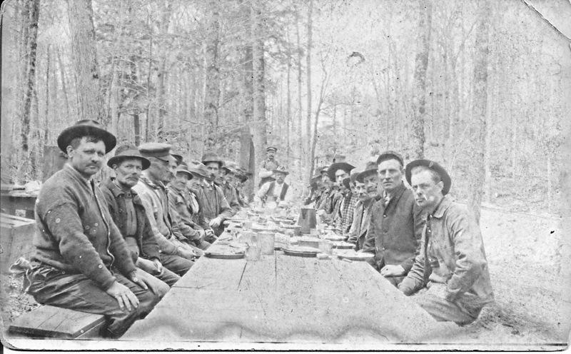 Logging Camp Meal