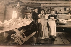 Cadillac-Lumber-Logging-Camp-Cooks-And-Family