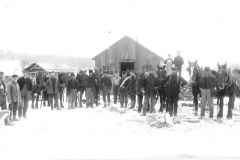 Sours Camp Crew and their Horses