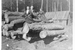 Ladies at the Logging Camp