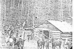 Typical Logging Camp