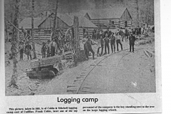 Cobbs and Mitchell Logging Camp