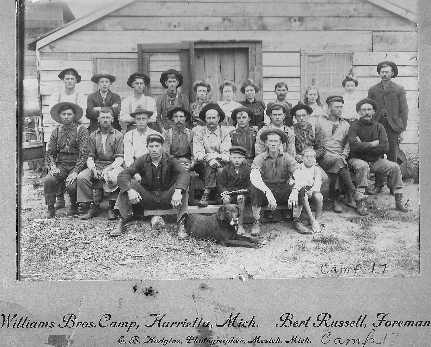 Harrietta Camp Number 17