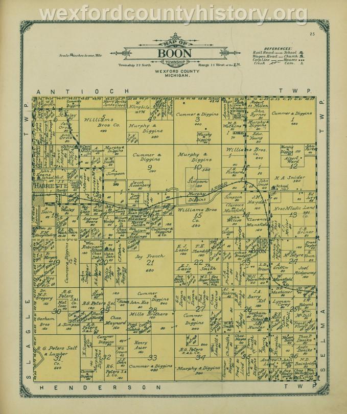 1908 - Boon Township
