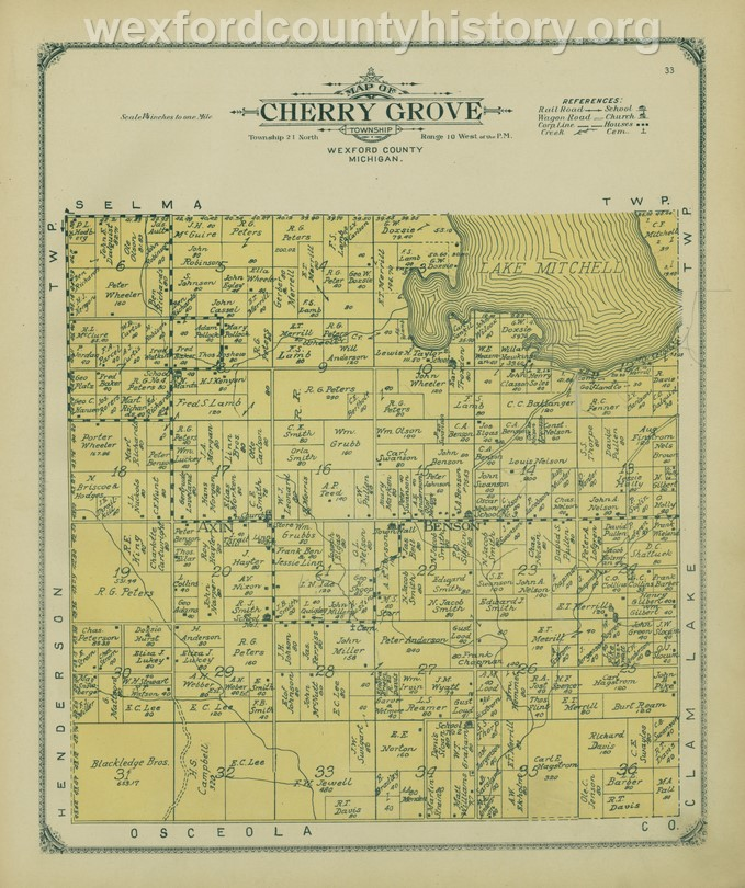 1908 - Cherry Grove Township
