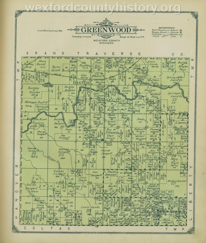 1908 - Greenwood Township