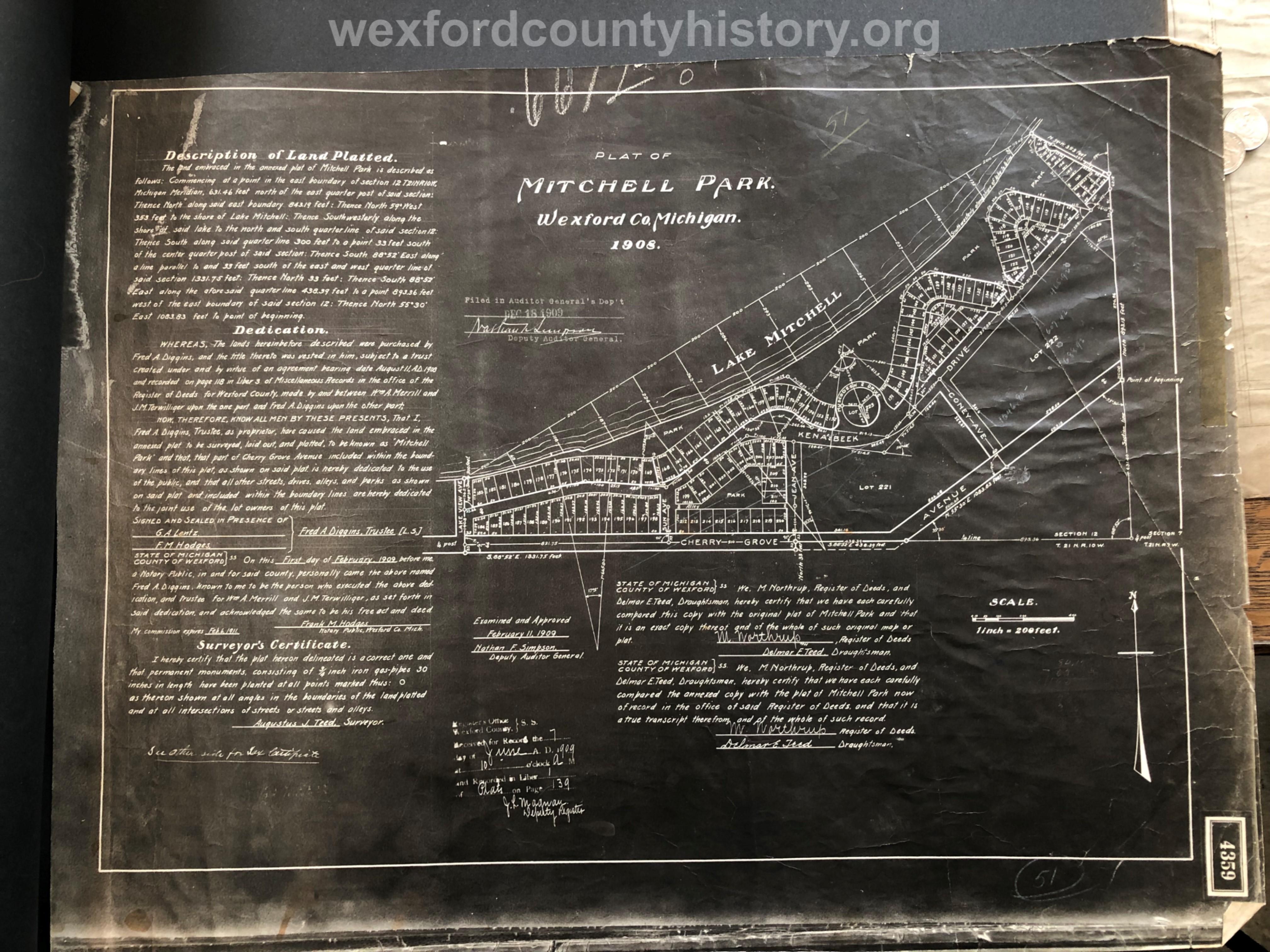 1908 - Mitchell Park