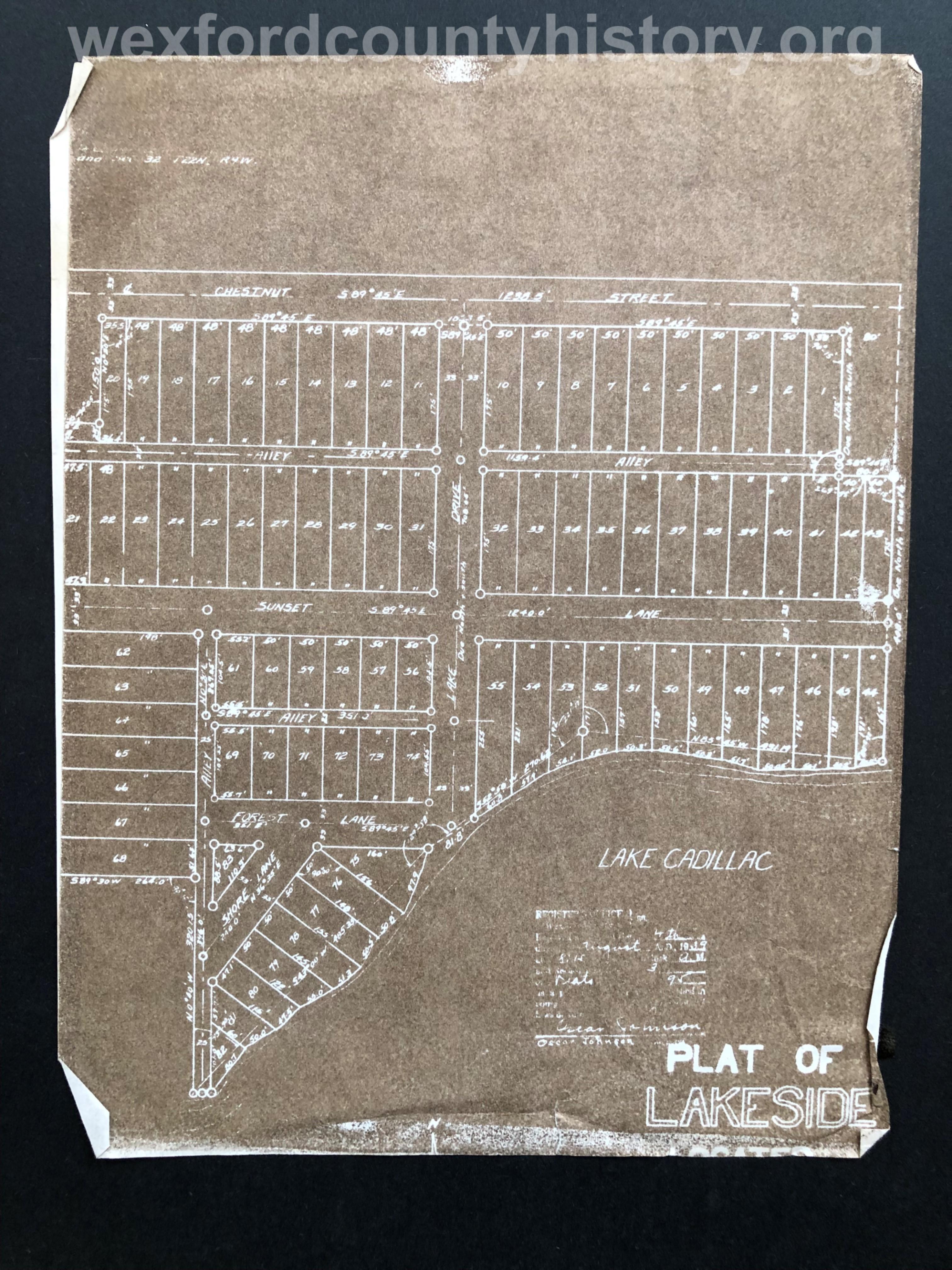 1939 - Lakeside