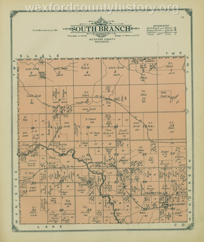 1908 - South Branch Township