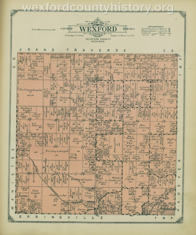 1908 - Wexford Township