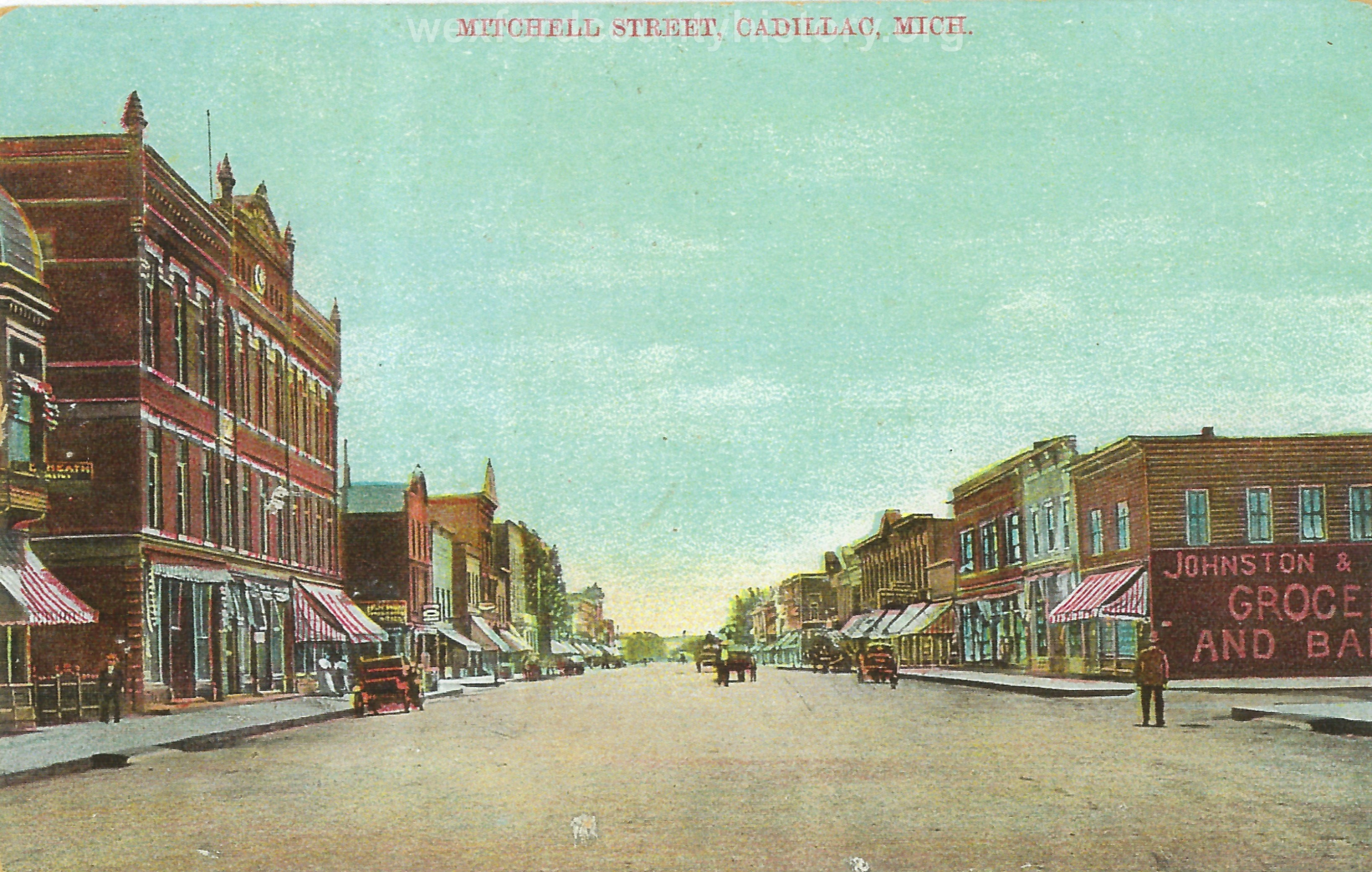 North Mitchell Street, 100 Block, Looking South