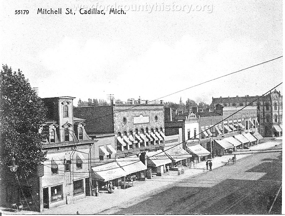 South Mitchell Street, 100 Block, East Side