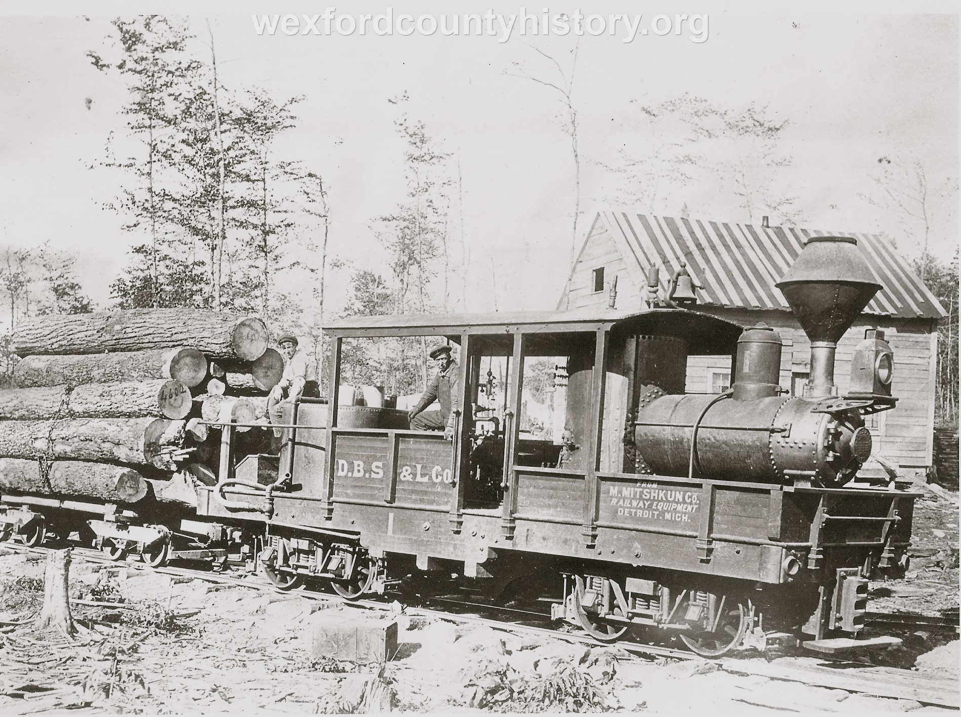 Climax Locomotive in Missaukee County
