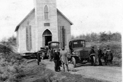 Holmquist Coll. Acme Trucks Move Church