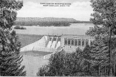 Tippy Dam in Manistee County