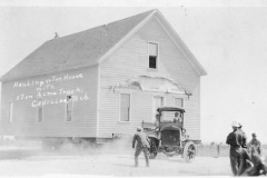 Acme Truck Moving a House