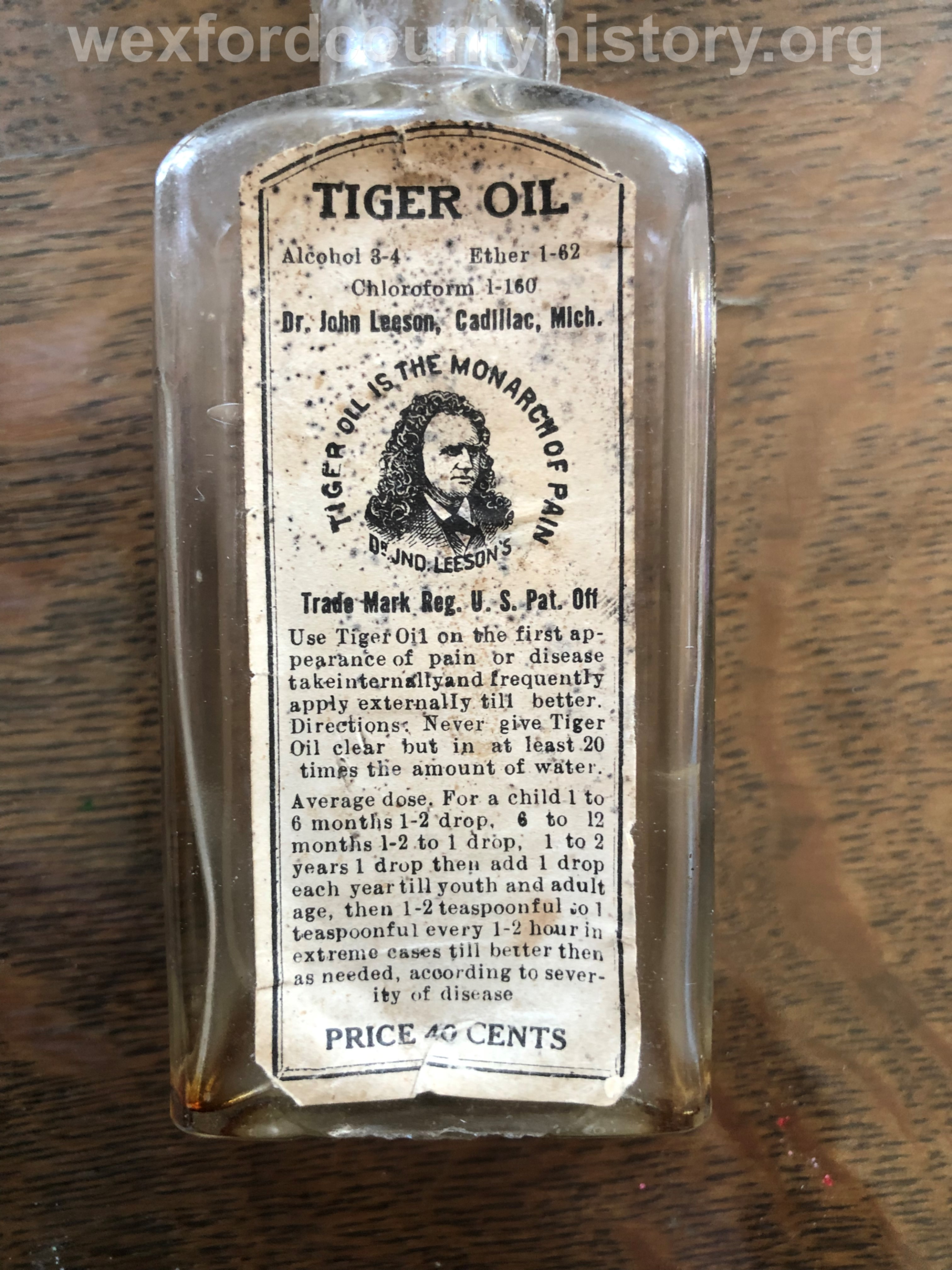 Cadillac-Object-Dr.-Leesons-Tiger-Oil-Bottle-7