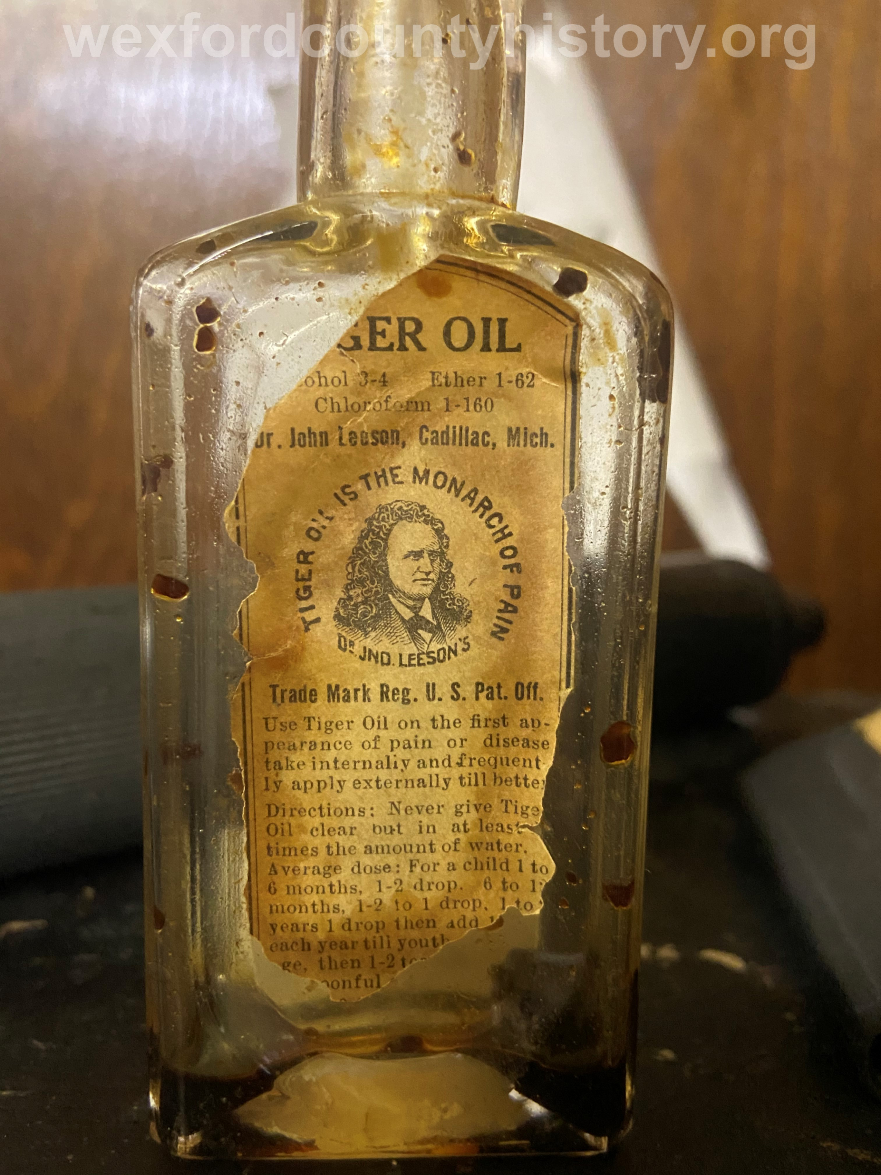 Cadillac-Objects-Dr.-Leeson-Tiger-Oil-Bottle-5