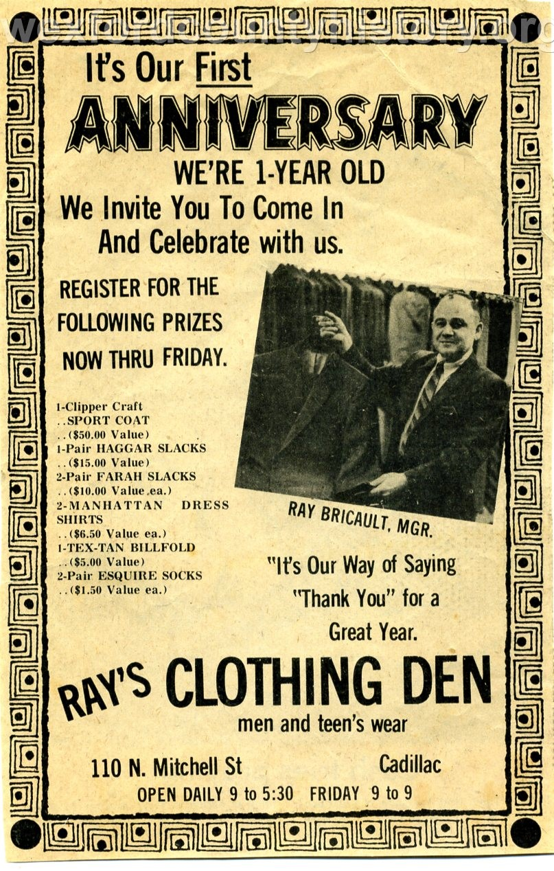 Cadillac-Objects-Rays-Clothing-Den-One-Year-Anniversary-Poster