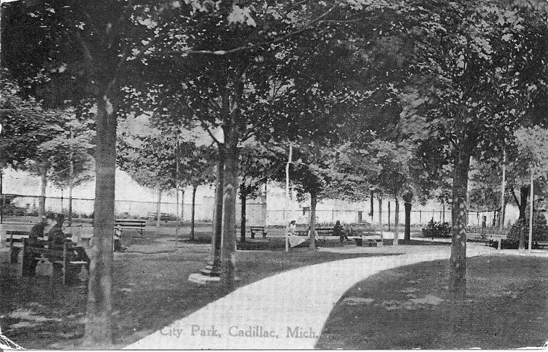 Cadillac City Park, 1917
