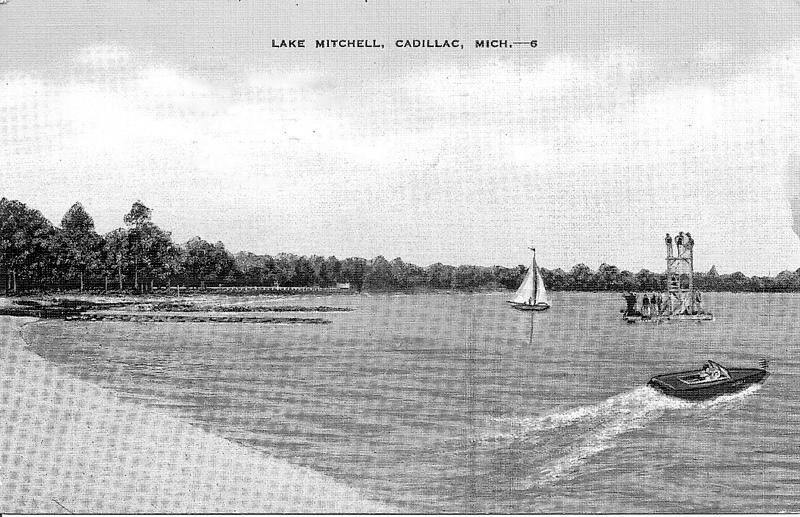 Lake Mitchell Beach