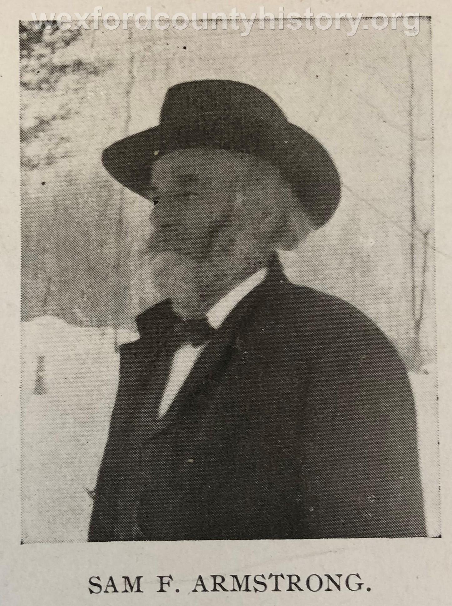 Samuel F. Armstrong
