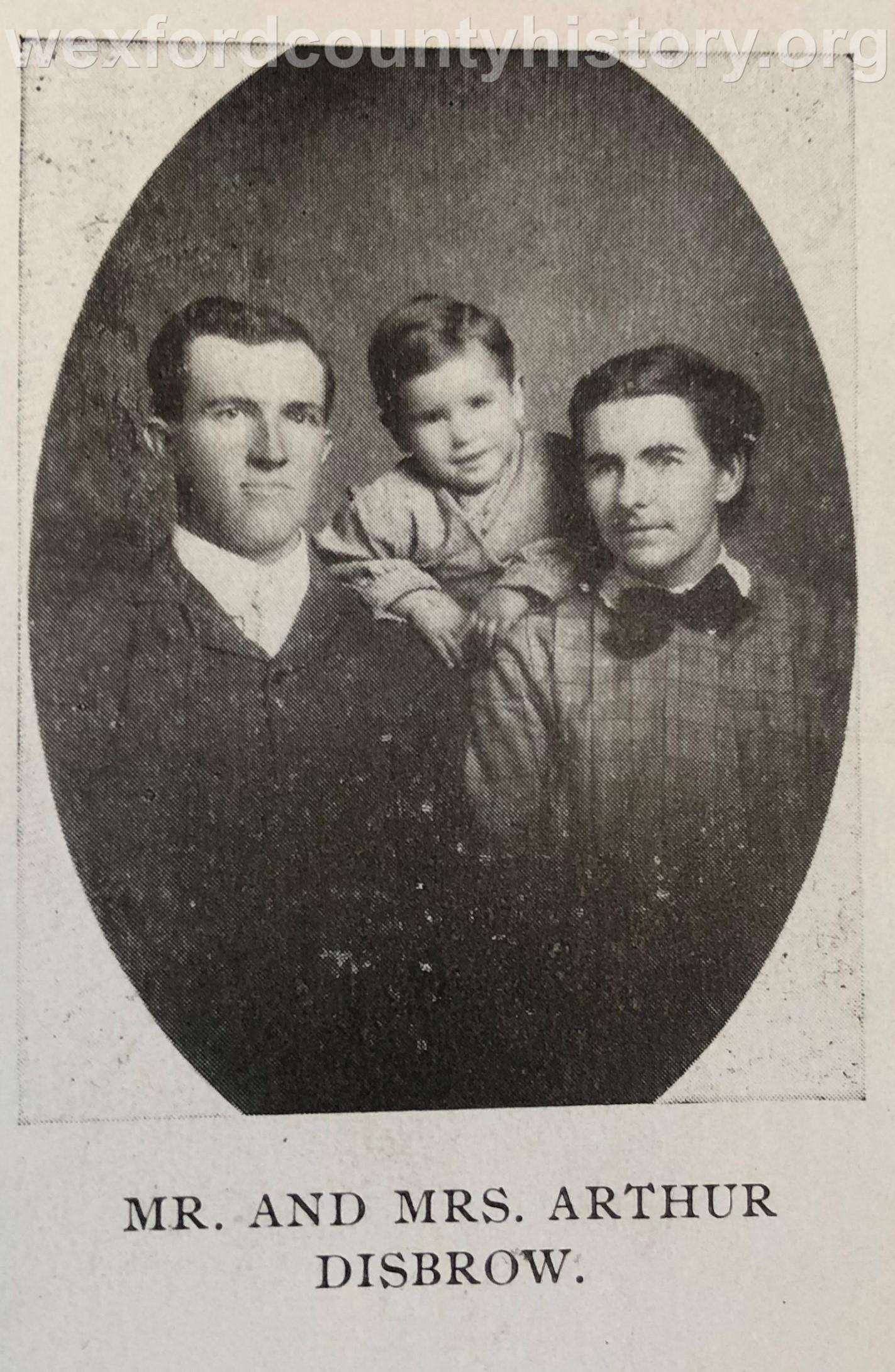 Arthur Disbrow Family
