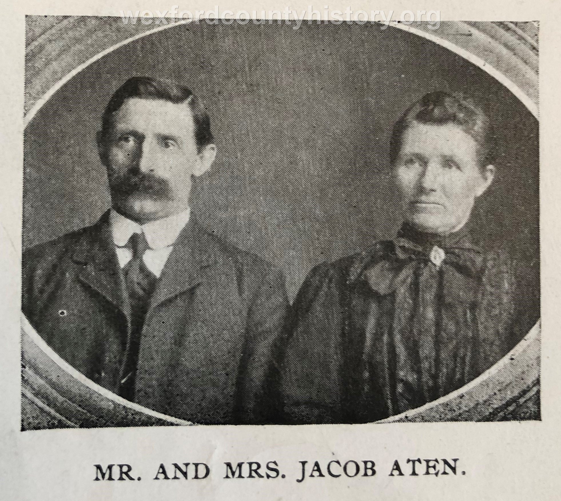 Mr. And Mrs. Jacob Aten
