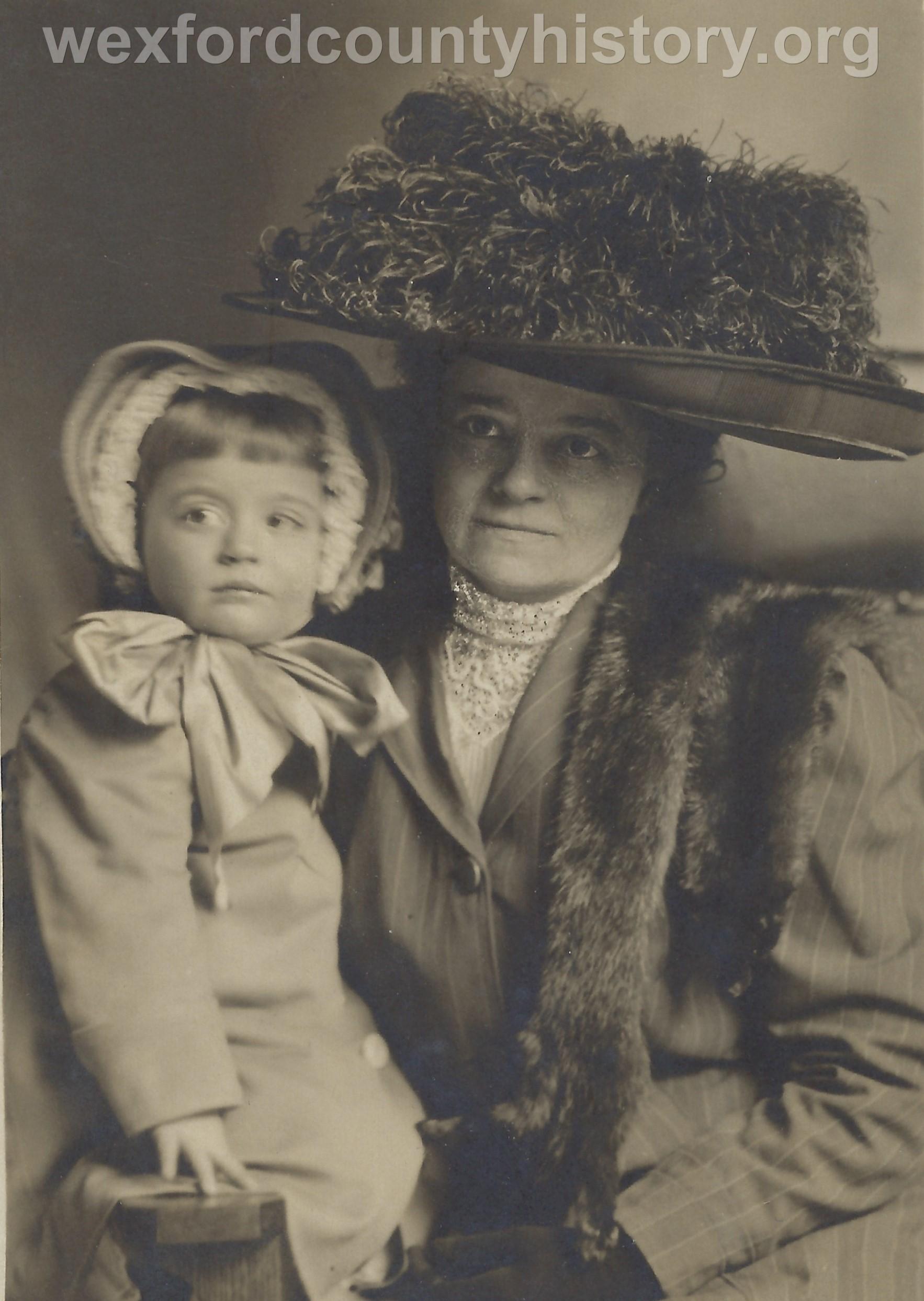 Mrs. Harry Beaver Holding Betty