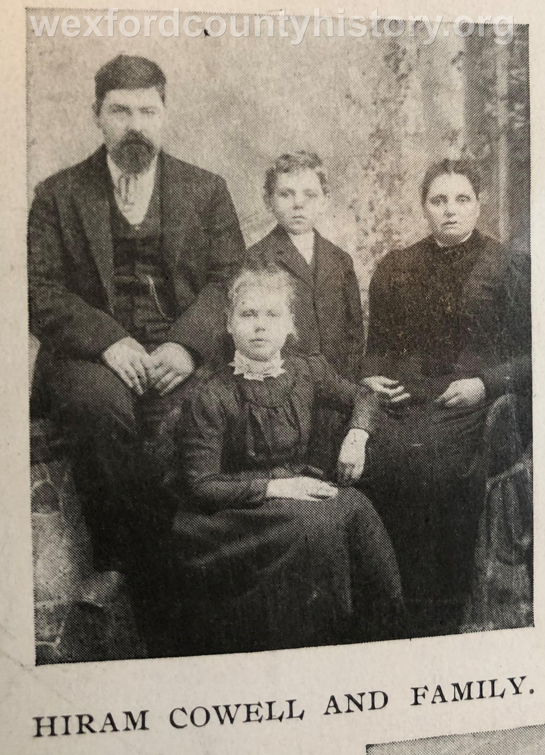 Hiram Cowell Family
