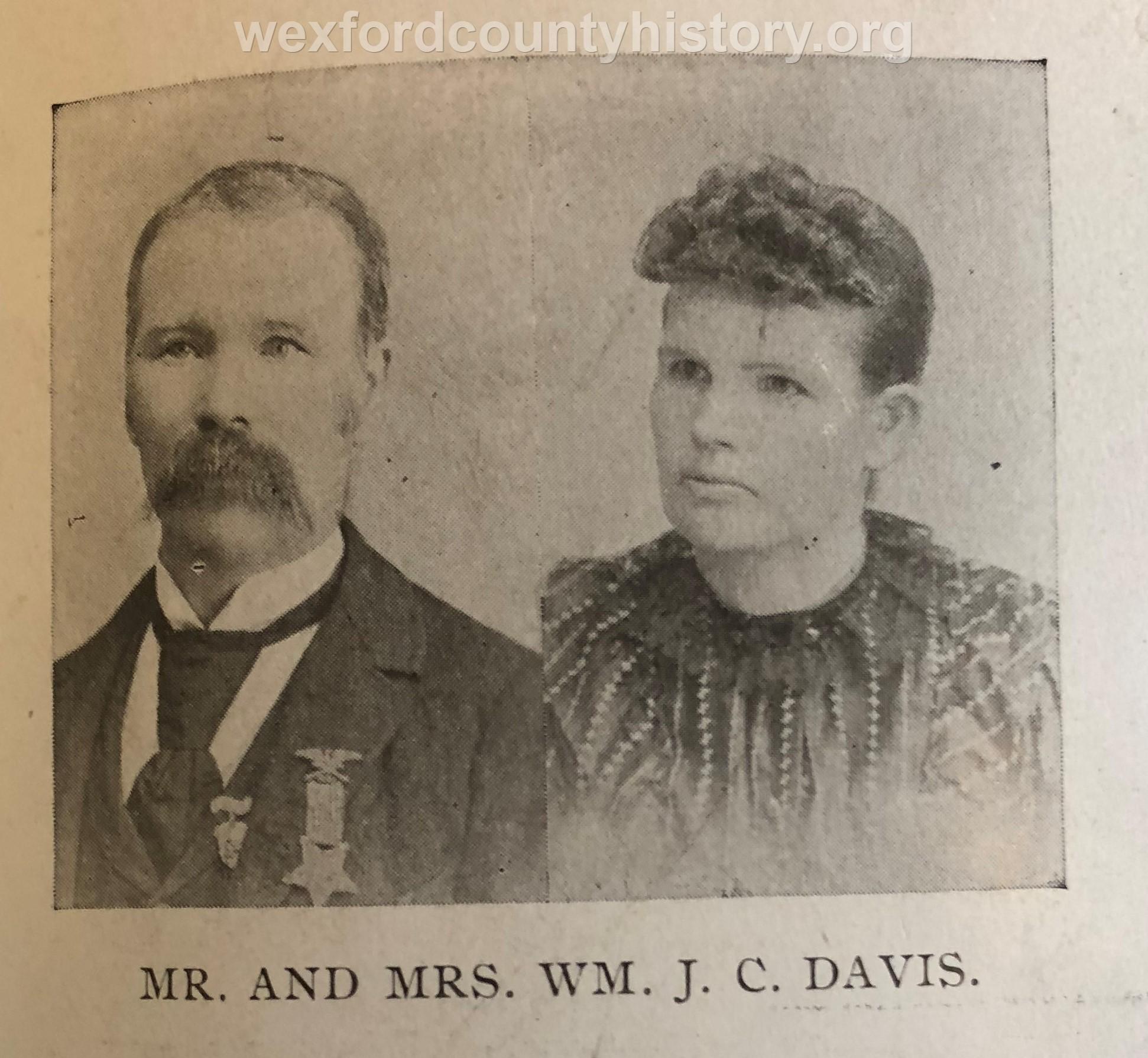 Mr. And Mrs. J. C. Davis
