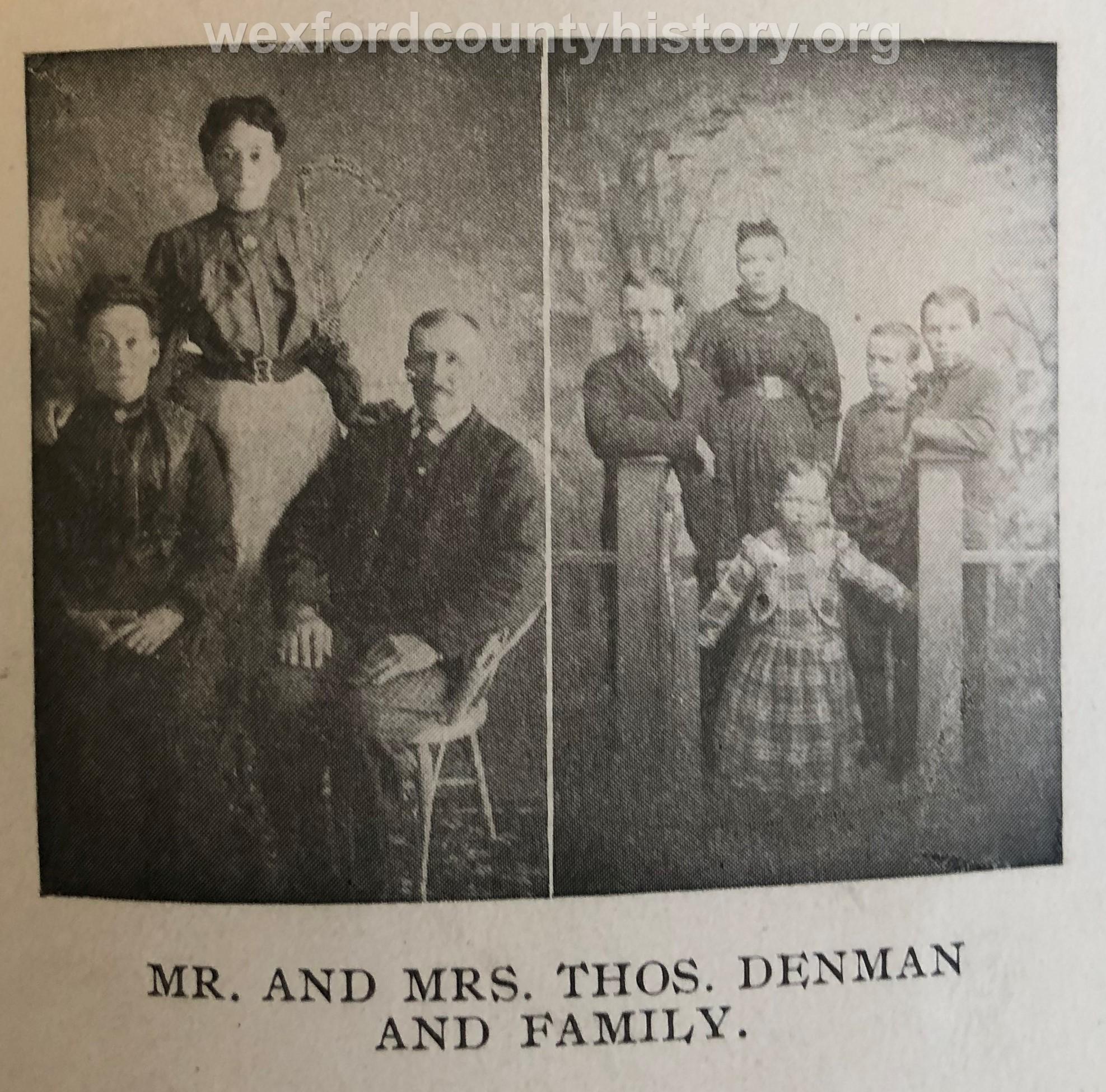 Thomas Denman Family