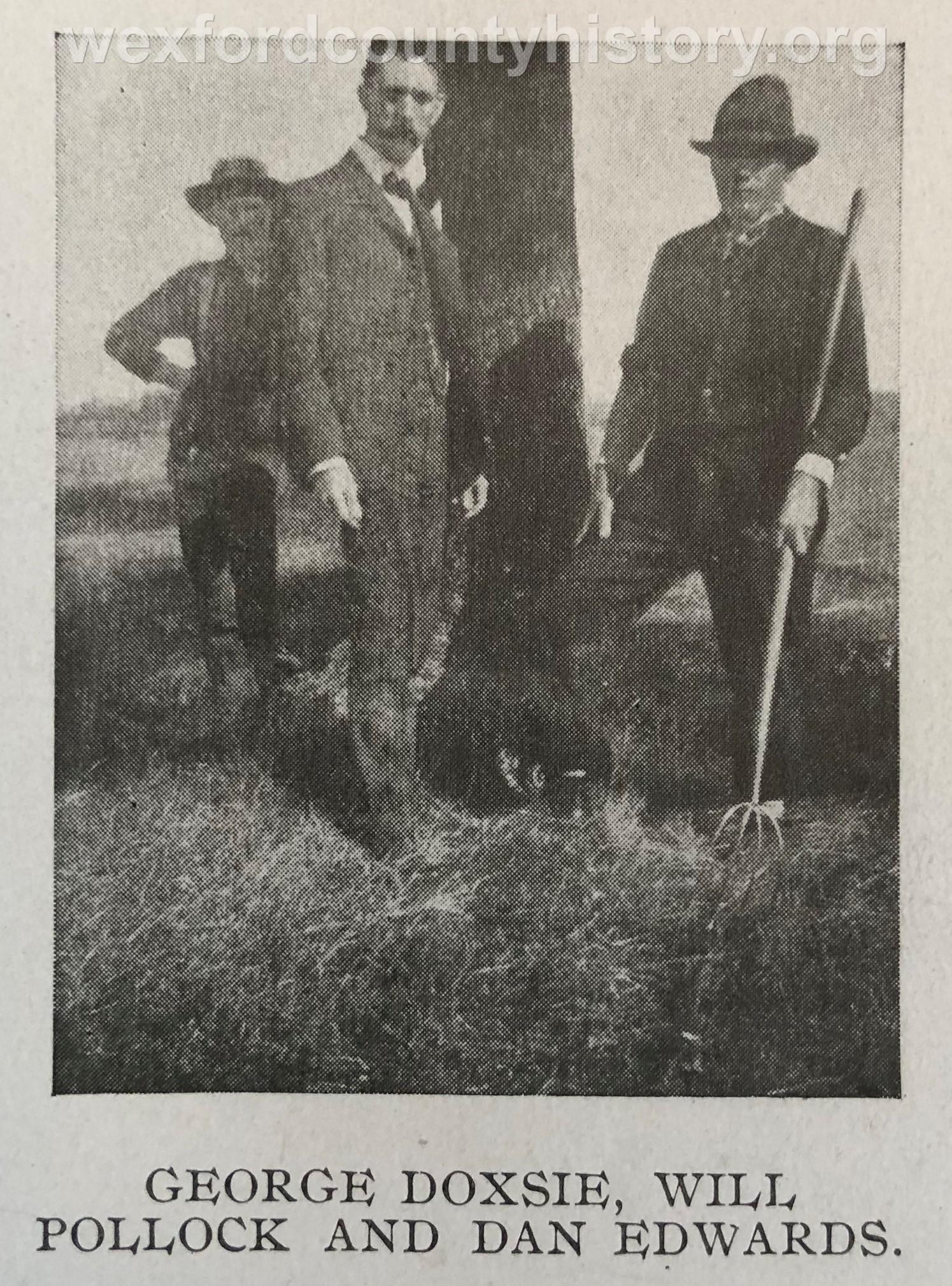 George Doxie, William Pollock And Daniel Edwards