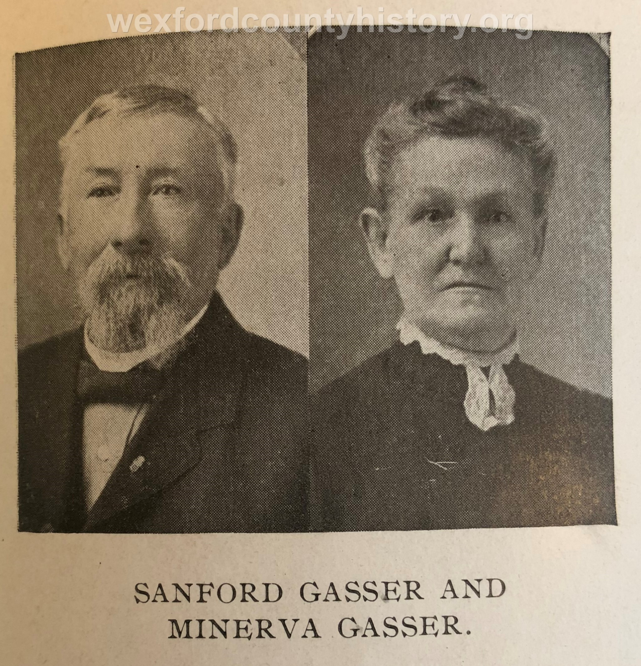 Sanford And Minerva Gasser