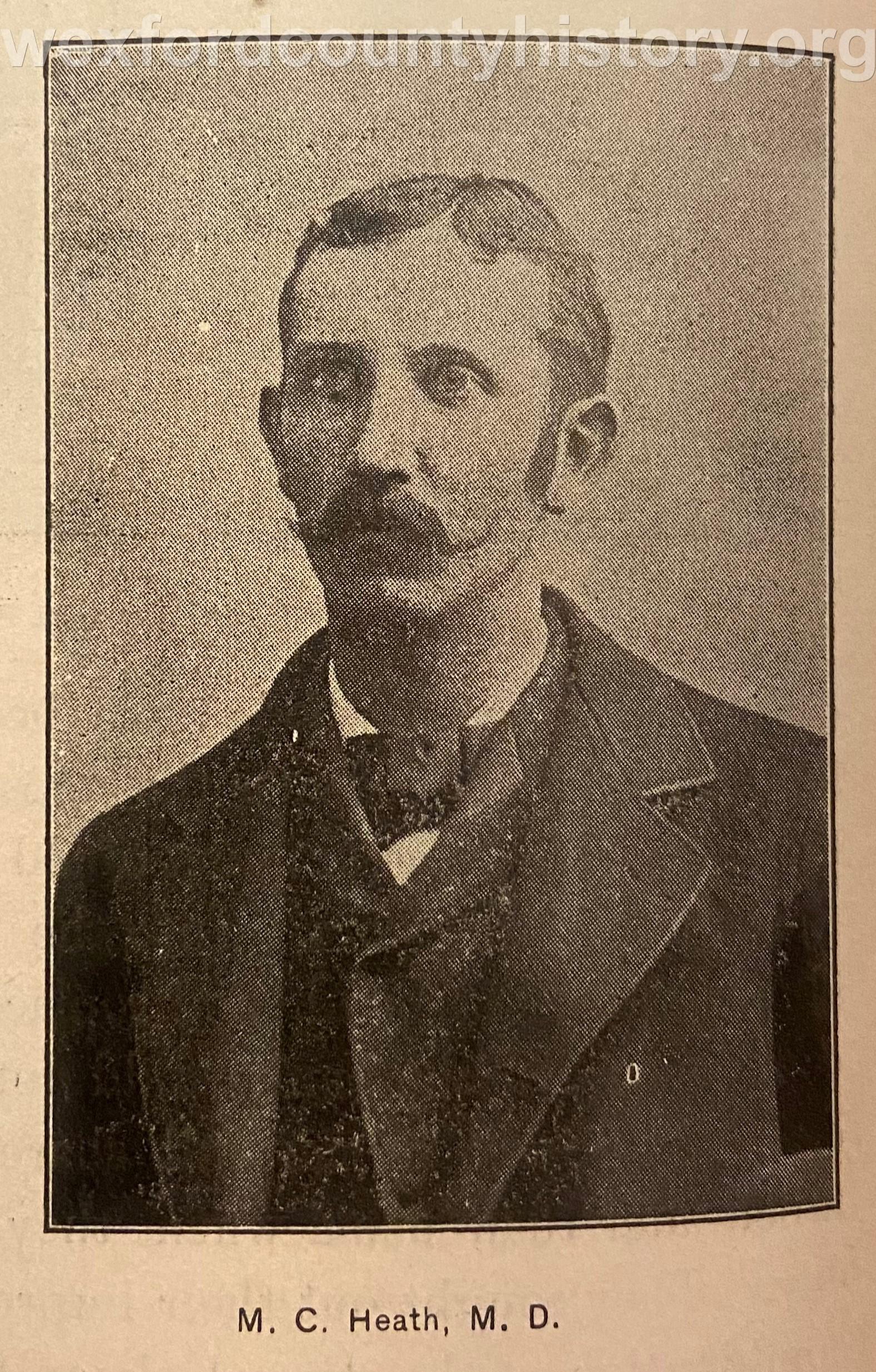 Dr. M. C. Heath