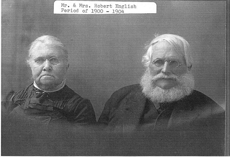 Holmquist Coll. Robert English Family