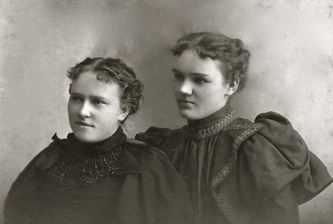 Portrait of Two Ladies