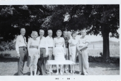 Boyce Family Reuinion in 1958