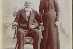 Hiram Gregg and Ingrid Prisell
