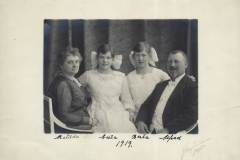 Alfred Hammar Family